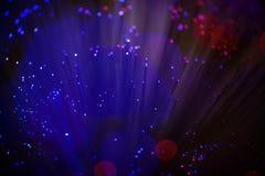 Оптический кабель в детали стоковые фотографии rf