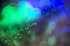 Оптический кабель в детали стоковые фото