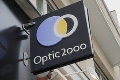 Оптический 2000 магазинов стоковая фотография rf