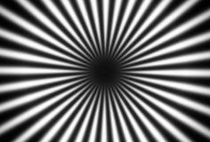 Оптически эффективный гипнотик, лучи сходиться черно-белые бесплатная иллюстрация