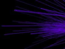 Оптическое волокно стоковое изображение rf