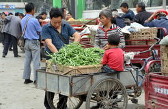 оптовая продажа pengzhou рынка семьи фарфора Стоковое Изображение
