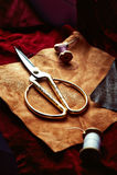 Оптовая ткань Состав коричневых ванильных аксессуаров кожи и ботинка Стоковое Фото