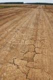 опустошенная старая дорога Стоковое Фото