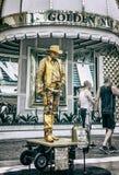 Опыт улицы Лас-Вегас Fremont Стоковое Изображение RF