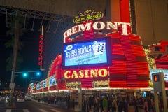 Опыт улицы Лас-Вегас, Fremont стоковое изображение