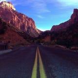 опять дорога Стоковые Изображения RF
