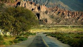 опять перемещать дороги Аргентины Стоковые Фото