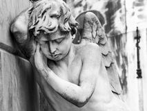 Оплакивая ангел Стоковые Фотографии RF