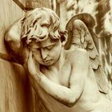 Оплакивая ангел Стоковое Фото