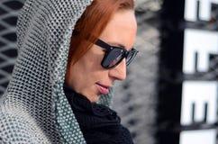 Оплакивая женщина Стоковые Изображения RF