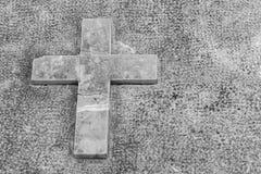 Оплакивая крест Стоковое фото RF