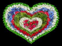 Оплакивая флористическое сердце Стоковые Изображения