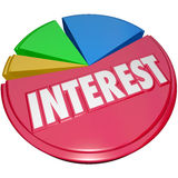 Оплата нервного расстройства процентной ставки слишком много кредита задолженности поручая Стоковое Фото
