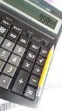 Оплата счета бухгалтерии планированиe бизнеса Стоковая Фотография RF