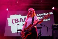Оплачьте диапазон в концерте на фестивале BAM стоковые изображения rf