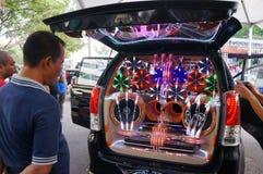 доработанный автомобиль Стоковые Изображения RF