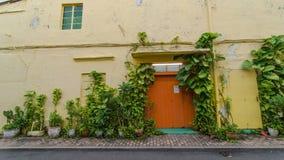 Оранжевая дверь Стоковое Изображение RF