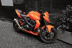 Оранжевая высокая эффективность mo Стоковое Фото
