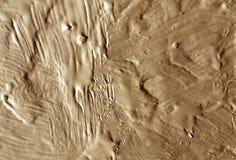 Оранжевая влажная текстура краски Стоковое Изображение RF