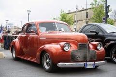 Оранжевая горячая припаркованная штанга Стоковые Фотографии RF