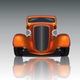Оранжевая горячая штанга Стоковые Фотографии RF