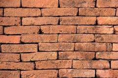Оранжевая кирпичная стена Стоковая Фотография