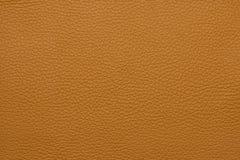 Оранжевая кожаная grained картина предпосылки текстуры Стоковое фото RF