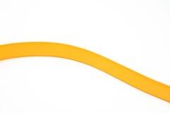 Оранжевая кривая Оранжевый пояс Стоковая Фотография