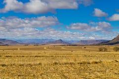 Оранжевая панорама освободившееся государство, Южная Африка Стоковые Фотографии RF