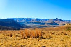 Оранжевая панорама освободившееся государство, Южная Африка Стоковое Фото