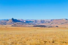 Оранжевая панорама освободившееся государство, Южная Африка Стоковые Изображения RF