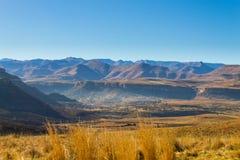 Оранжевая панорама освободившееся государство, Южная Африка Стоковое Изображение RF