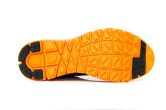 Оранжевая подошва ботинка Стоковые Изображения RF