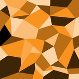 Оранжевая предпосылка картины вектора полигона квадрата тени иллюстрация вектора