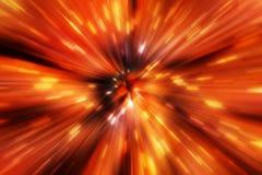 Оранжевая предпосылка искры Стоковые Изображения RF
