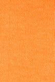 Оранжевая предпосылка текстуры хлопко-бумажной ткани, конец вверх Стоковое фото RF