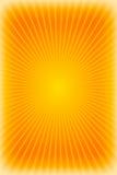 Оранжевая предпосылка sunburst Стоковое Изображение