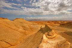 Оранжевая пустыня стоковое фото rf
