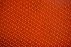 Оранжевая сетка металла Стоковая Фотография