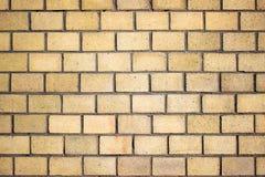 Оранжевая текстура кирпичной стены, камень предпосылки цвета Стоковые Фотографии RF