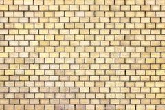 Оранжевая текстура кирпичной стены, камень предпосылки цвета Стоковая Фотография RF