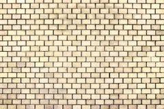 Оранжевая текстура кирпичной стены, камень предпосылки цвета Стоковые Фото
