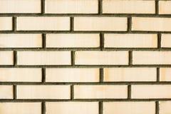 Оранжевая текстура предпосылки кирпичной стены Стоковое Фото