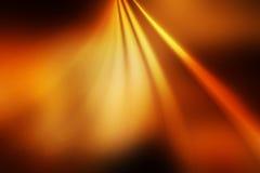 Оранжевая теплая абстрактная предпосылка Стоковая Фотография