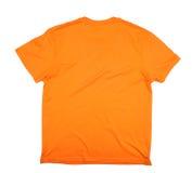 Оранжевая футболка стоковое изображение