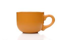 Оранжевая чашка завтрака Стоковые Фото