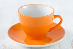 Оранжевая чашка Стоковые Фотографии RF