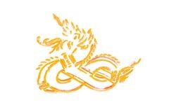 Оранжевое искусство Стоковое фото RF
