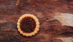 Оранжевое bisquit студня Стоковые Фото